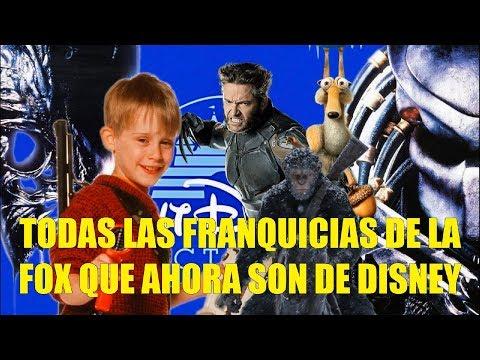 Todas las Franquicias de la FOX Que Ahora Son de Disney y Que Viene a Futuro