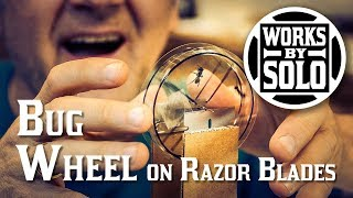 Video Making a Bug Wheel on Razor Blades. A fun way to experiment with insects. Fun with physics and math. download MP3, 3GP, MP4, WEBM, AVI, FLV Oktober 2018