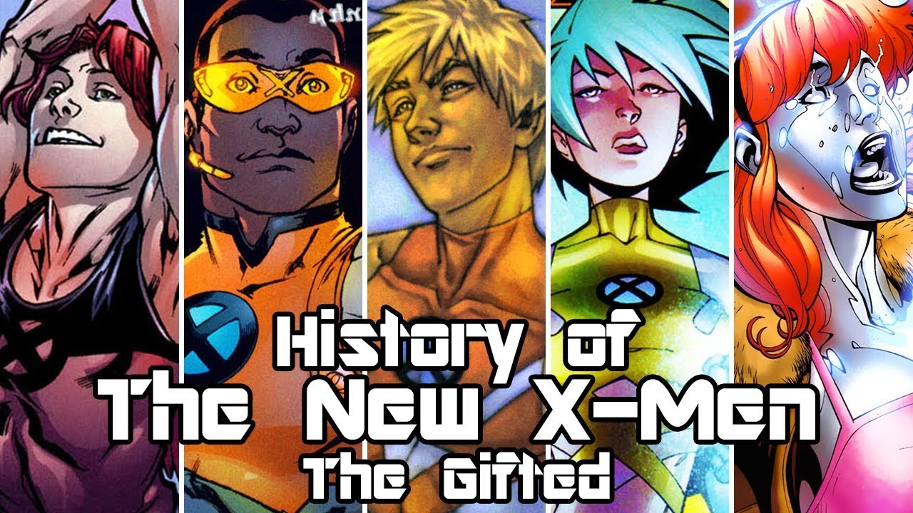 History Of The New X Men The Gifted Youtube