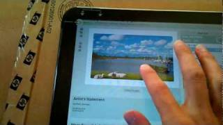 HP TouchPad mit Android (CM 7.1 alpha)