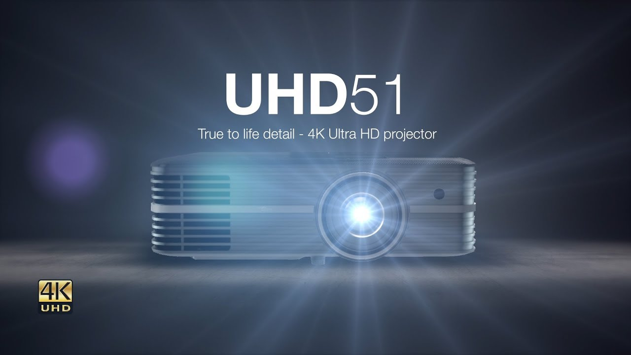 UHD51 True to life detail - 4K Ultra HD projector - Optoma