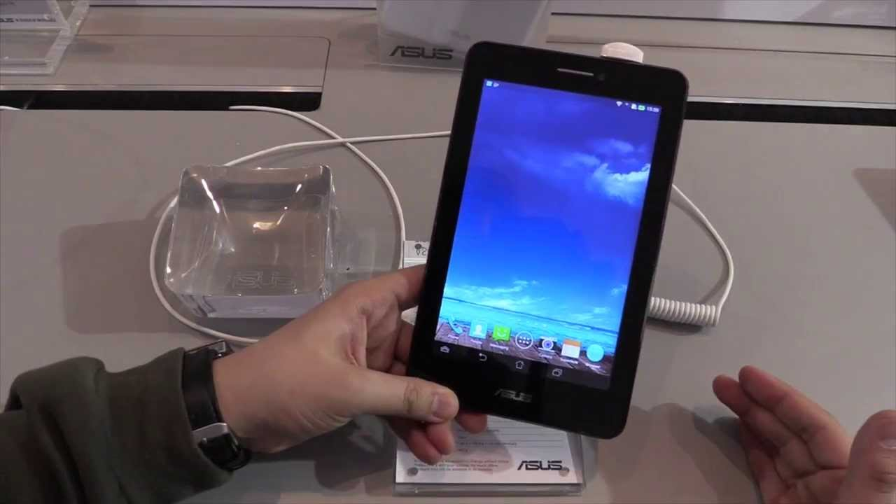 Asus FonePad 7 ME175CG Hands On (English) - YouTube