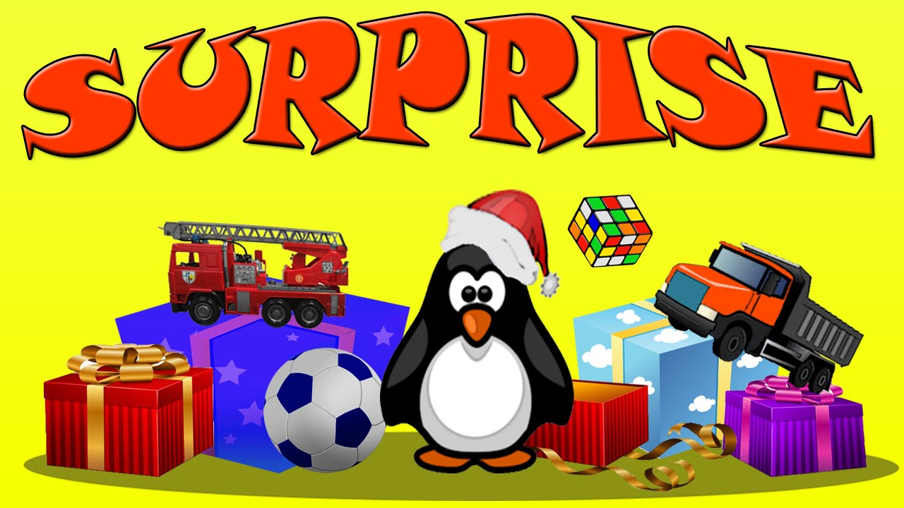 Мультфильм для детей. Подарки от Деда Мороза. Зимние ...
