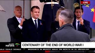 Centenary Commemoration of World War I continue in Paris