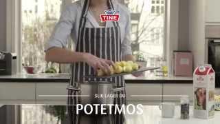 Slik lager du potetmos