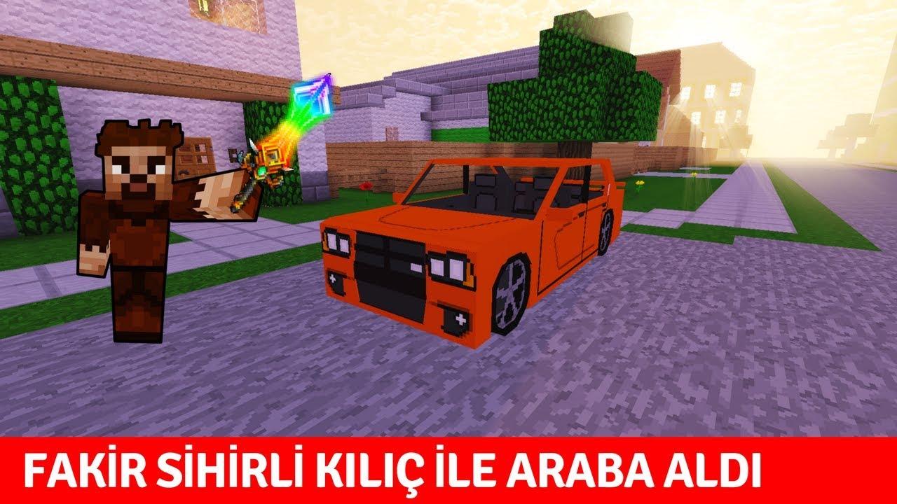 ZENGİN VS FAKİR #187 - Fakir Sihirli Kılıç ile Araba Aldı (Minecraft)