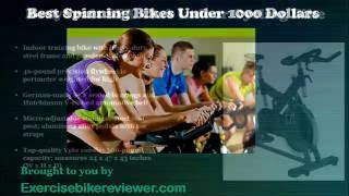 Best Spinning Bikes Under 1000 Dollars