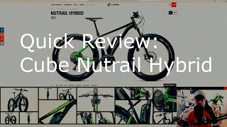 E-Bike #3: Cube Nutrail Hybrid 500 review und ein bisschen Haibike dissen