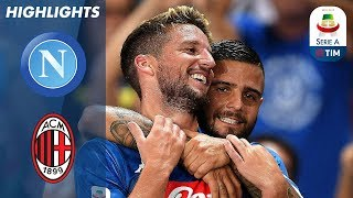 Napoli 3-2 Milan | Incredible Comeback Win from 2-0 Down! | Serie A streaming