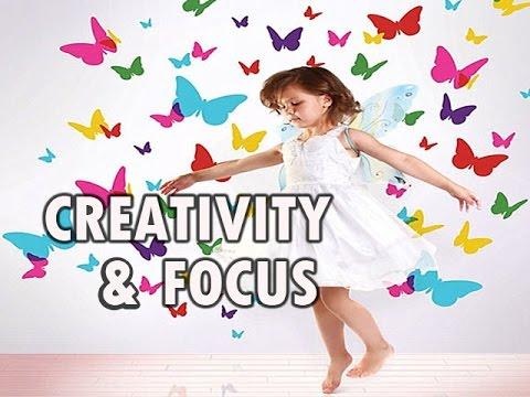Creativity and Focus ~ Isochronic Tones - 1 HOUR