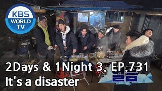 It's a big disaster [2Days&1Night Season3/2019.01.20]