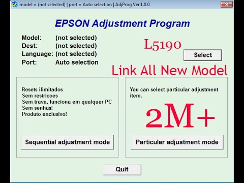 Unlimited Use 1 PC Waste Ink Pad Reset Epson L380 Virus Free or Trojan