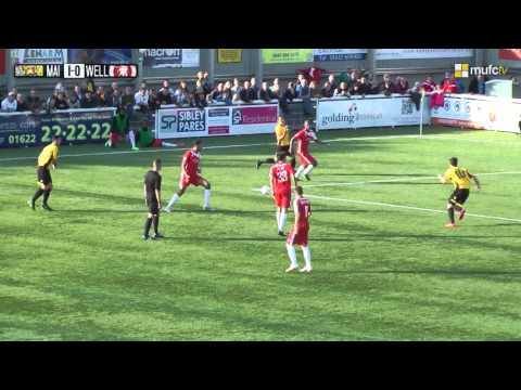 Maidstone United Vs Welling FULL GAME (25/10/14)