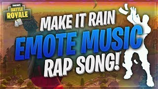 "Turning the Fortnite ""Make It Rain"" Emote Music into a Rap Song"