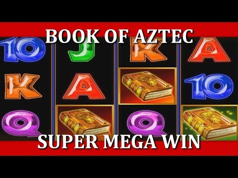 SUPER MEGA WIN - BOOK OF AZTEC (twitch.tv/kronosporri)(0.3€ bet)