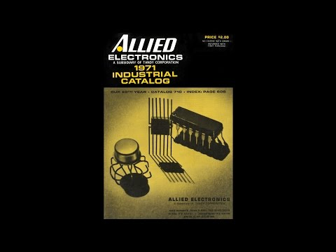 1971 Allied Electronics - Industrial Catalog #710