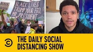 Peaceful Black Lives Matter Protests Held Around The World I The Daily Show With Trevor Noah