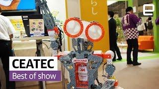 فن و منوعات  بالفيديو.. أفضل 5 اختراعات في معرض تكنولوجيا ياباني