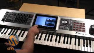 �������� ���� Roland Fantom G6 -- Roland Rep Shows Us How It's Done ������