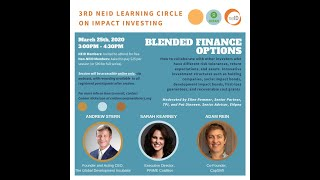 NEID Impact Investing Series: Blended Finance Options