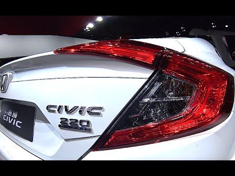 New 2016 2017 Honda Civic Touring Turbocharged Engine Sedan