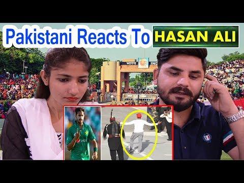 Pakistani Reacts To | Hasan Ali Generator Style in Wagah Border 2018 | Indian Media