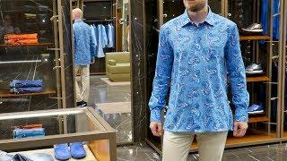 Мужская рубашка от Kiton, хлопок, review: ID 160741