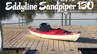 Eddyline Sandpiper 130: On Water Review + Stokes Clinic