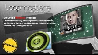 Dubstep Samples and Loops- DJ Untold Dubstep Producer