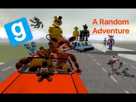 Repeat Gmod FNAF Live | A Random Adventure by Xman 723
