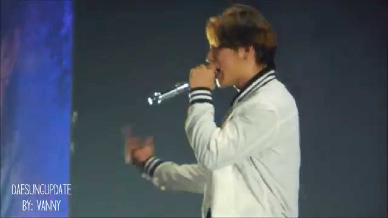 150719 Daesung Focused Bang Bang Bang Encore Youtube