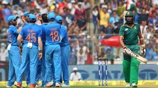 INDIA vs SOUTH AFRICA 5TH ODI 2015 Complete match highlights