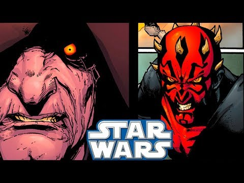 Sidious and Maul MEET For the Last TimeCANON  Star Wars Comics Explained