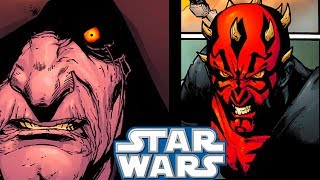 Sidious and Maul MEET For the Last Time(CANON) - Star Wars Comics Explained