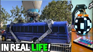 Fortnite - 6 Incredible Real Life Creations! (Fortnite in Real Life)
