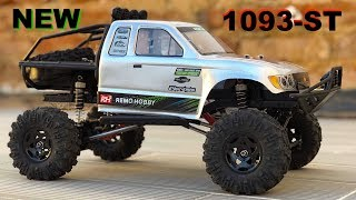 NEW 1:10 Remo Hobby 1093-ST Crawler Series Revealed