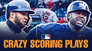 Crazy MLB Scoring Plays of early 2019!