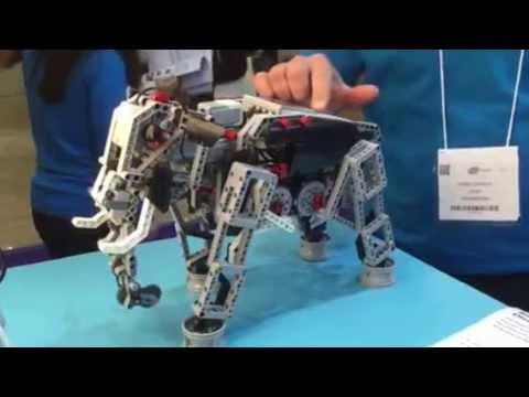 LEGO Mindstorms EV3 Elephant at Bett 2015 - YouTube