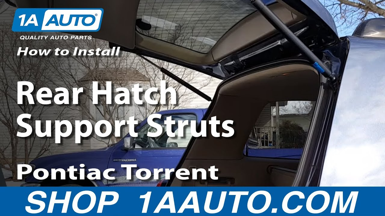 How To Install Replace Rear Hatch Support Struts 2005 09