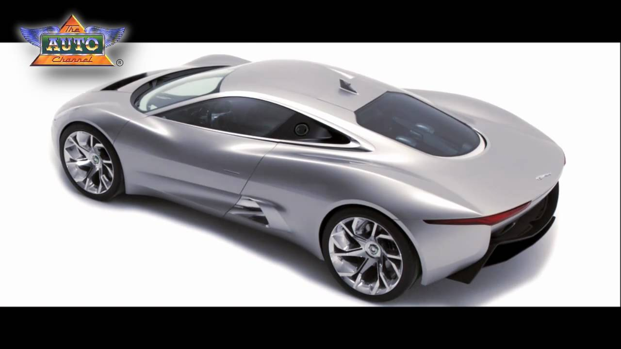 New Jaguar C-X75 Super Sports Car - Design - YouTube