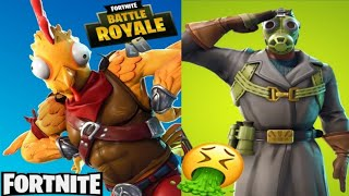 TOP 7 SKINS PLUS FEAS ET HORRIBLES DE FORTNITE BATTLE ROYALE