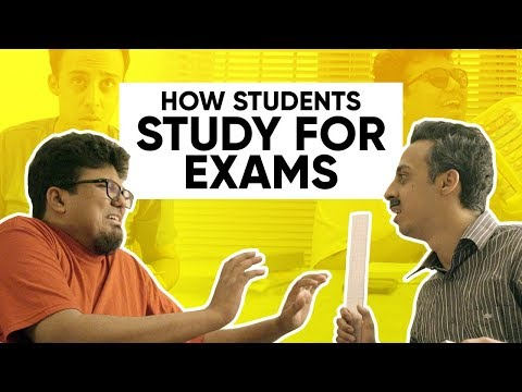 How Students Study For Exams | Part 1 | Jordindian