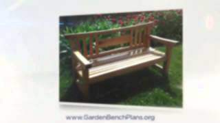 How To Build Teac Garden Bench