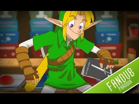 Zelda porno con la princesa Ruto, Saria, Malon, Impa y