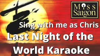 Last Night of the World Karaoke - female part only - sing with me