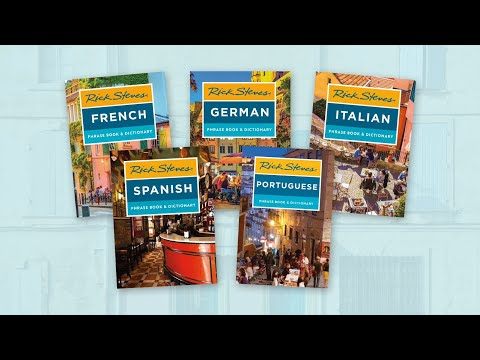 Rick Steves Phrase Books: New Editions Available Now
