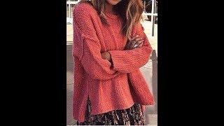 Вязание Спицами - Модели Пуловеров для Женщин - 2019 / Knitting Patterns Pullovers for Women