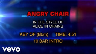 Alice In Chains - Angry Chair (Karaoke)