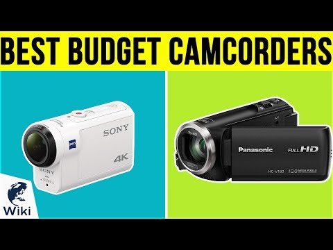 8 Best Budget Camcorders 2019