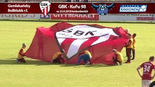 GBK - KuFu 98 su 23.9.2018 - Ottelukooste